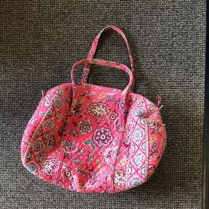Big Vera Bradley Travel Bag